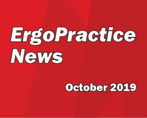 Ergo Practice News logo October 2019