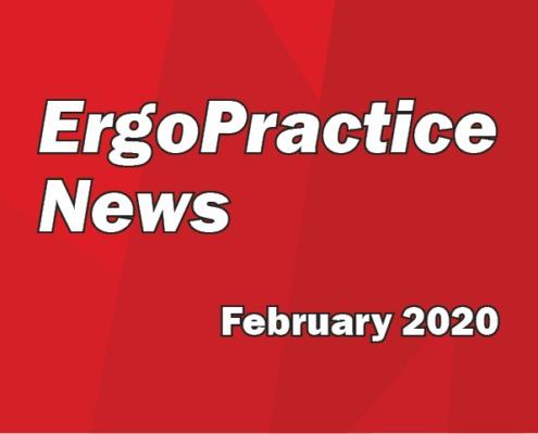 Ergo Practice News logo February 2020