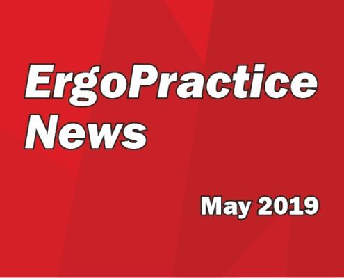 Ergo Practice News logo May 2019