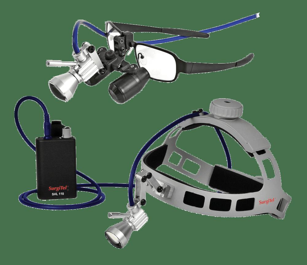 SurgiTel Surgical LED Headlight - Dental Loupes with Light