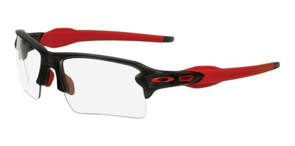 SurgiTel Frames - Flak 2 Grey Smoke Red